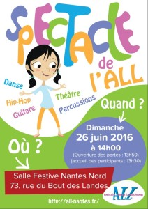 Affiche spectacle 2016