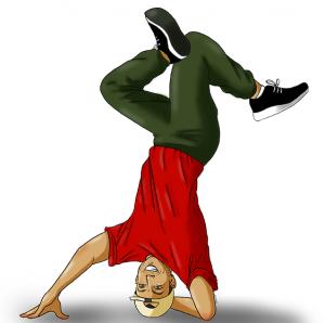 figure de danse hip-hop (c)TutoAxy
